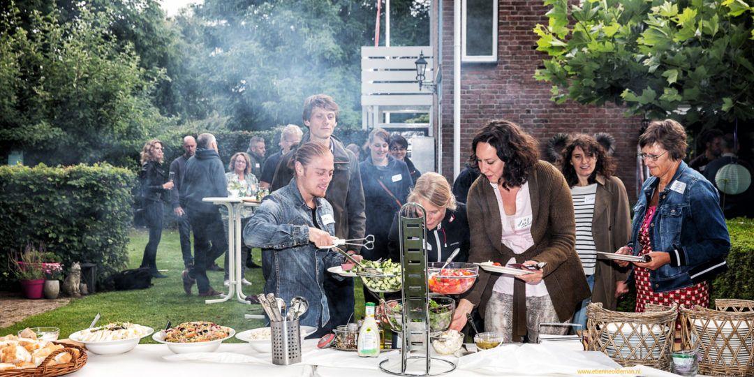 BBQ event ondernemersnetwerk ONE