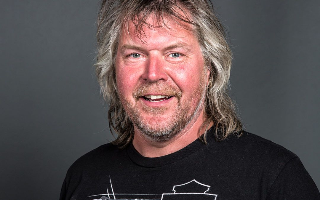 Portret technische man