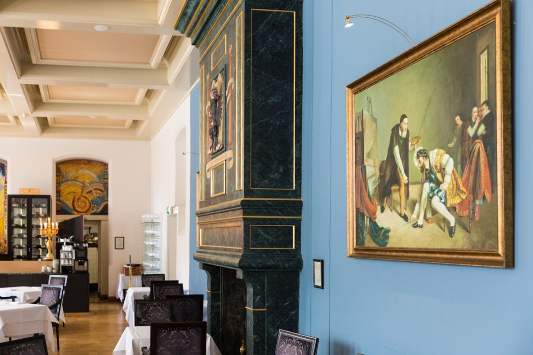 Interieur hotel Karel V in Utrecht *****