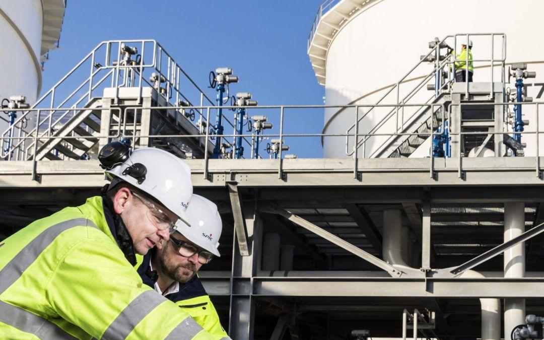 Industriële fotoreportage voor arbeidscommunicatie SPIE Nederland