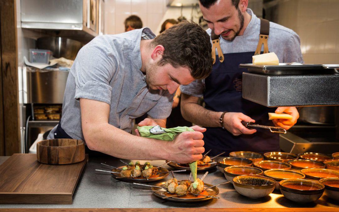 Catering bij opening Welkin and Meraki Eindhoven