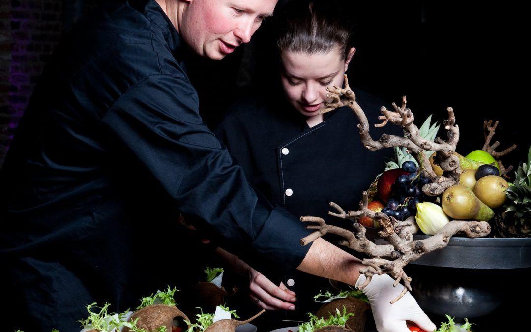 Culinair event in museum Prinsenhof in Delft