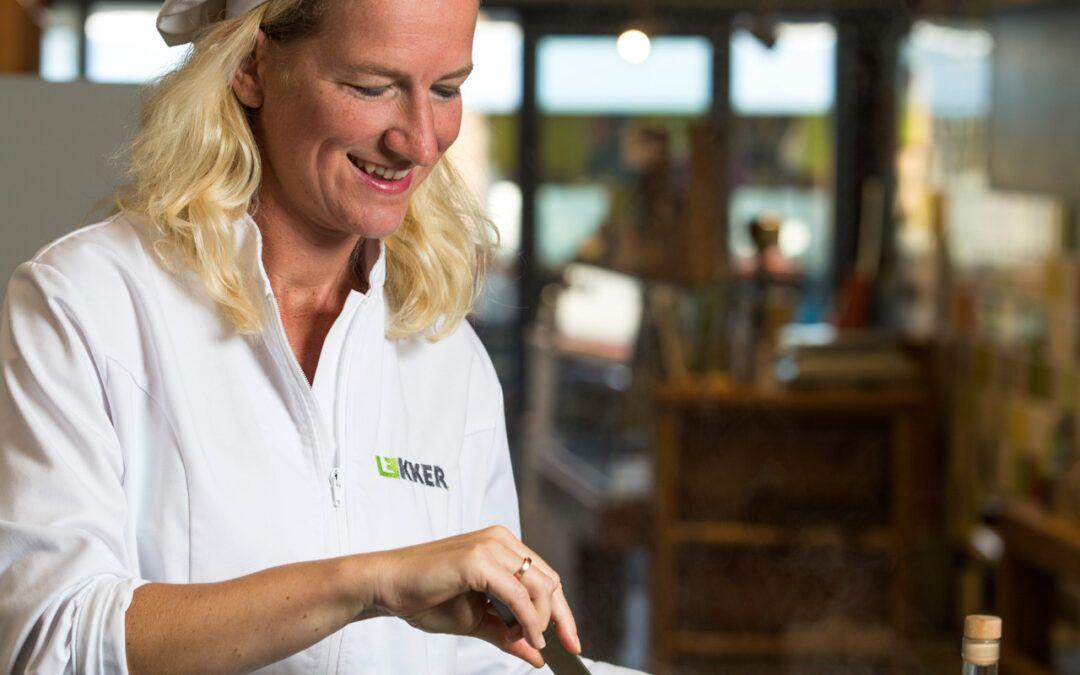 Portret van cateraar Mieke Paris van Lekker in Driebergen